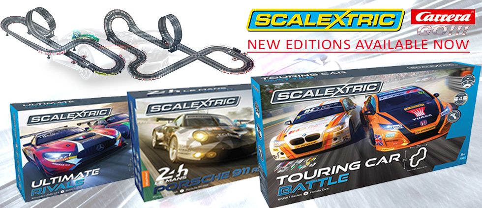 At Straight2you Scalextric & Slot Cars Toy Shop, we stock popular range of Scalextric & Slot Cars like Carrera Go.