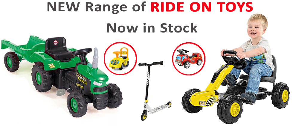 Ride-on Toys | Electric Ride On Cars & Bikes | Ride on Tractor Truck Digger UK